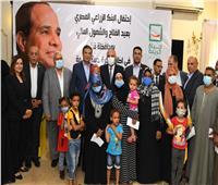 محافظ قنا يشارك البنك الزراعي المصري احتفاله بعيد الفلاح
