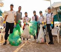 محافظ الاسكندرية : رفع طن مخلفات من حملة تنظيف 8 شواطئ