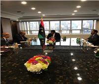 وزير الخارجية يلتقي رئيس المجلس الرئاسي الليبي بنيويورك