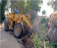 إزالة 380 حالة تعدي على أراضي الدولة بالدقهلية