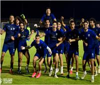 احتفال الفريق الفائز في تقسيمة مران الزمالك المسائي | صور