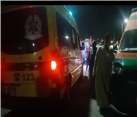 انتشال الجثة الثالثة والبحث عن آخرين في حادث انقلاب سيارة داخل ترعة بنجع حمادي 