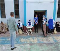 تطعيم 907 مواطنين في مركز شباب الحي القبلى بشبين الكوم خلال 24 ساعة