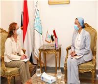 وزيرة البيئة تبحث تنظيم مؤتمرالمناخ مع بعثة الامم المتحدة