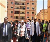 محافظ أسوان يفتتح التجمع الأول بحي اللوتس بإجمالي 864 وحدة سكنية