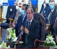 أبرز تصريحات الرئيس السيسي خلال افتتاحه مشروعات تنموية بجنوب سيناء |فيديو