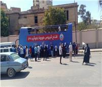 انطلاق حملة «معاً نطمئن» بميدان الأربعين بمحافظة السويس