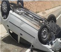 مصرع شاب في حادث حادث تصادم سيارة بقنا