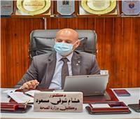 وكيل وزارة الصحة بالشرقية يناقش خطة تطعيم المواطنين بلقاح كورونا