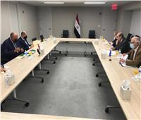 شكري يلتقي نائب المفوضية الأوروبية لتعزيز الشراكة بين مصر وأوروبا