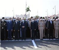 متحدث الرئاسة ينشر صور وفيديو تقدم الرئيس السيسي الجنازة العسكرية للمشير طنطاوي