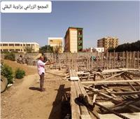 رئيس مدينة الشهداء يتفقد تنفيذ مشروعات «حياة كريمة»