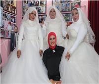 حفل زفاف بأجواء عائلية تحت مظلة «معانا لإنقاذ إنسان»