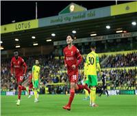 ليفربول يتقدم على نوريتش بالهدف الأول في كأس الرابطة