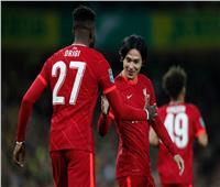 ليفربول يضرب نورويتش بالهدف الثاني في كأس الرابطة