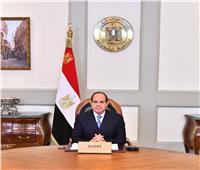 الرئيس السيسي: تشارك البشرية لمواجهة التحديات ضرورة