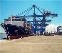 حركة الصادرات والواردات اليوم بميناء دمياط البحري