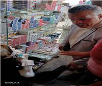 ضبط سجائر مجهولة المصدر بـ«غرب الإسكندرية»