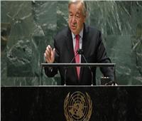 «غوتيريش» يدين محاولة الانقلاب في السودان ويدعو لمواصلة «العملية الانتقالية»