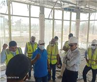 مسئولو «الإسكان» يتابعون سير العمل بـ«كابيتال بارك» في العاصمة الإدارية