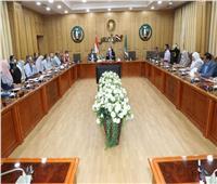 اجتماع تنسيقي لمتابعة نسب تنفيذ مشروعات البنية التحتيةبالمنوفية