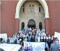 جامعة الإسكندرية تطلق أكبر قافلة تنمويةلبرج العرب ضمن «حياة كريمة»