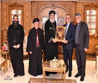 مطران المارونية يشكر البابا تواضروس على مبادرة «محبة»