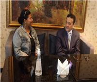 وزير الشؤون الإقتصادية بليبيا: أراضينا مفتوحة أمام الخبرات المصرية لإعادة الإعمار