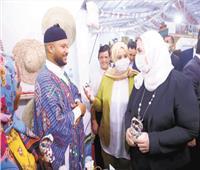 ليبيا ضيف شرف معرض «ديارنا» للحرف اليدوية والتراثية