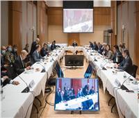 سامح شكري يشارك في اجتماع مجموعة مسار برلين حول ليبيا