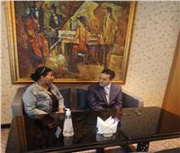 حوار| وزير الشؤون الاقتصادية الليبي:مصر عنصر الخير.. وكل الفرص متاحة لها في بلادنا