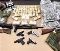ضبط مخدرات وسلاح بحوزة 65 شخصًا بالجيزة