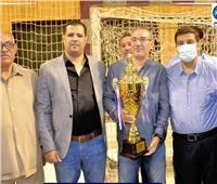 منفلوط يقتنص كأس البطولة لدوري مستقبل وطن بأسيوط