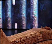 تابوت ابن أوزير يصل مقر الجناح المصري باكسبو دبي ٢٠٢٠