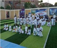 ختام منافسات الكاراتيه بمهرجان الاتحاد العام لمراكز شباب مصر