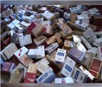 ضبط  19700 عبوة سجائر مستوردة بمخزن في القليوبية