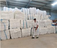الزراعة: ضبط 710 طن أعلاف مجهولة المصدر بالبحيرة