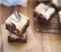 حلوياتك عندنا.. براونيز ماربل بالشوكولاتة