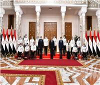الرئيس السيسي يكرم أبطال مصر الحاصلين على ميداليات في الدورة البارالمبية بطوكيو 2020