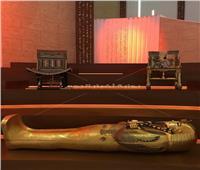 تابوت أثري ومستنسخات في الجناح المصري بمعرض إكسبو دبي 2020| صور