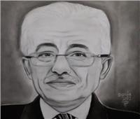 «دنيا محمد».. رسامة فذة تحاكي ملامح الزعماء والفنانين والمسئولين | صور