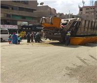 حملة نظافة موسعة بشوارع بولاق الدكرور بالجيزة | صور