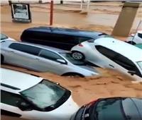 السيول تغمر إقليم مورسيا في إسبانيا| فيديو