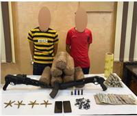 سقوط عاطلين بـ«كوكتيل مخدرات» وسلاح ناري بالدقهلية