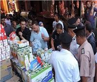 الإدارات التموينية الفرعية بالإسكندرية تشن حملات موسعة على الأسواق