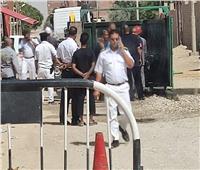 السيطرة على حريق بجوار نقطة شرطة بنجع حمادي