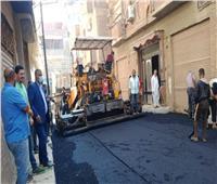 متابعة تنفيذ مشروعات البنية التحتية ضمن «حياه كريمة» بقرى المنوفية
