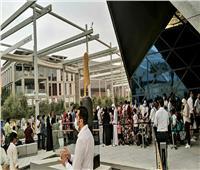 10 آلاف زائر بالجناح المصري بـ«اكسبو دبي 2020» في افتتاحه التجريبي| صور