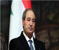 وزير خارجية سوريا يؤكد لنظيره المصري أهمية العلاقات بين البلدين