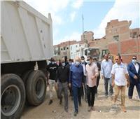 رفع 1200 طن تراكمات ومخلفات من شوارع مدينة بني سويف